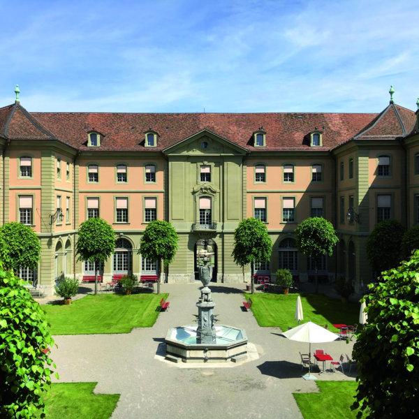 Berner Generationenhaus Innenfhof Kulinata