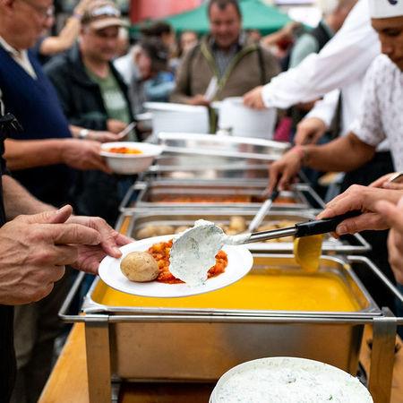 8691 Kulinata Food Save Bankett Pascale Amez Berner Platte 2.0