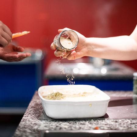 7837 Kulinata Veganer Kochkurs Root Food Pascale Amez Berner Platte 2.0